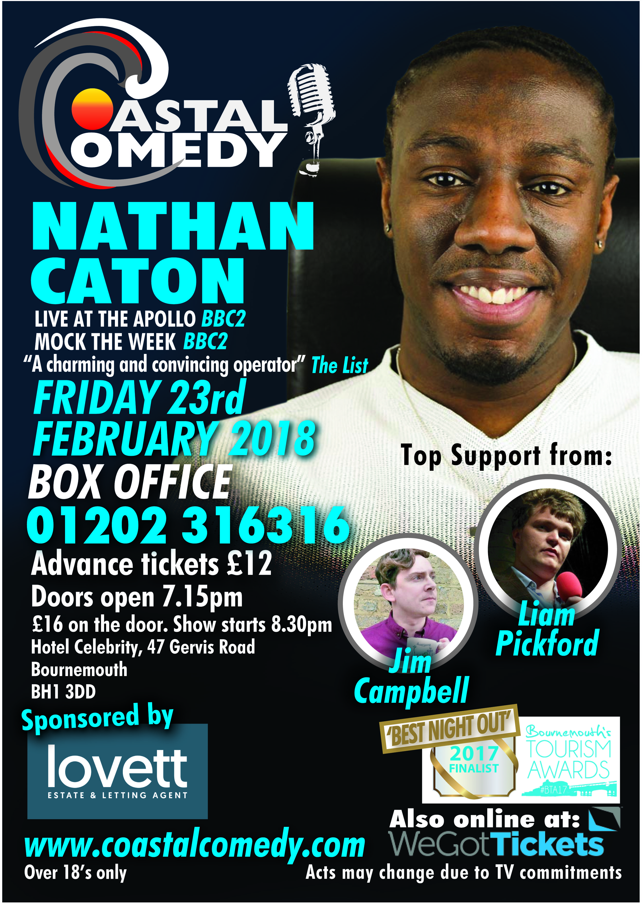 Nathan Caton, stand-up, best comedy club, Lymington, Hampshire, southampton, comedian, comic, jaggers, comedy, stand up, TV, Bournemouth, Dorset, show, Coastal, BIC, LOL,
