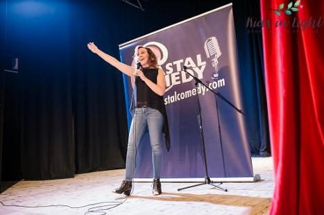 charity, bournemouth, comedy, adrienne coles. LOL, stand-up, host, Shelley Theatre,