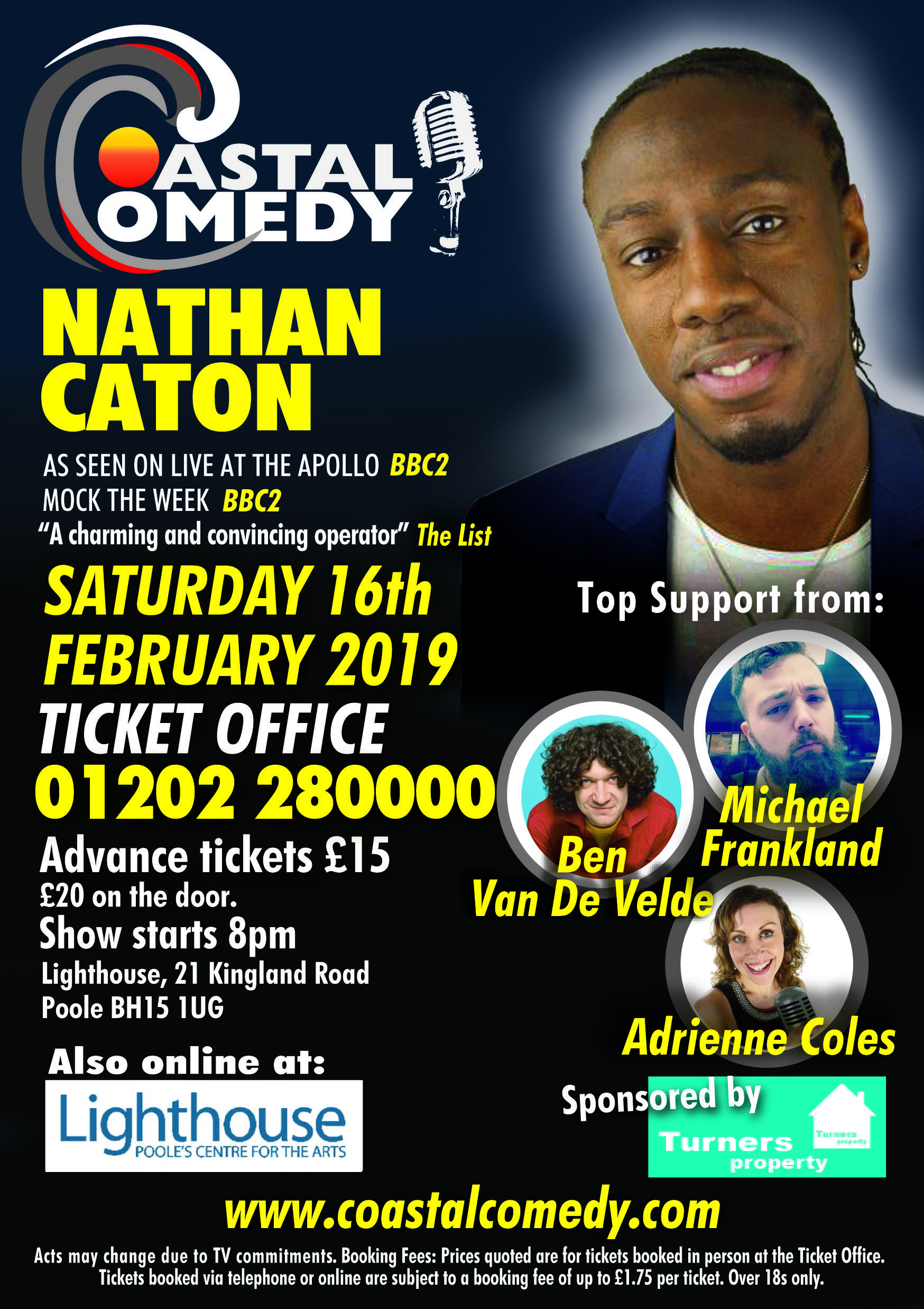 nathan caton, lighthouse, comedienne, comic, entertainment, saturday night, night life,