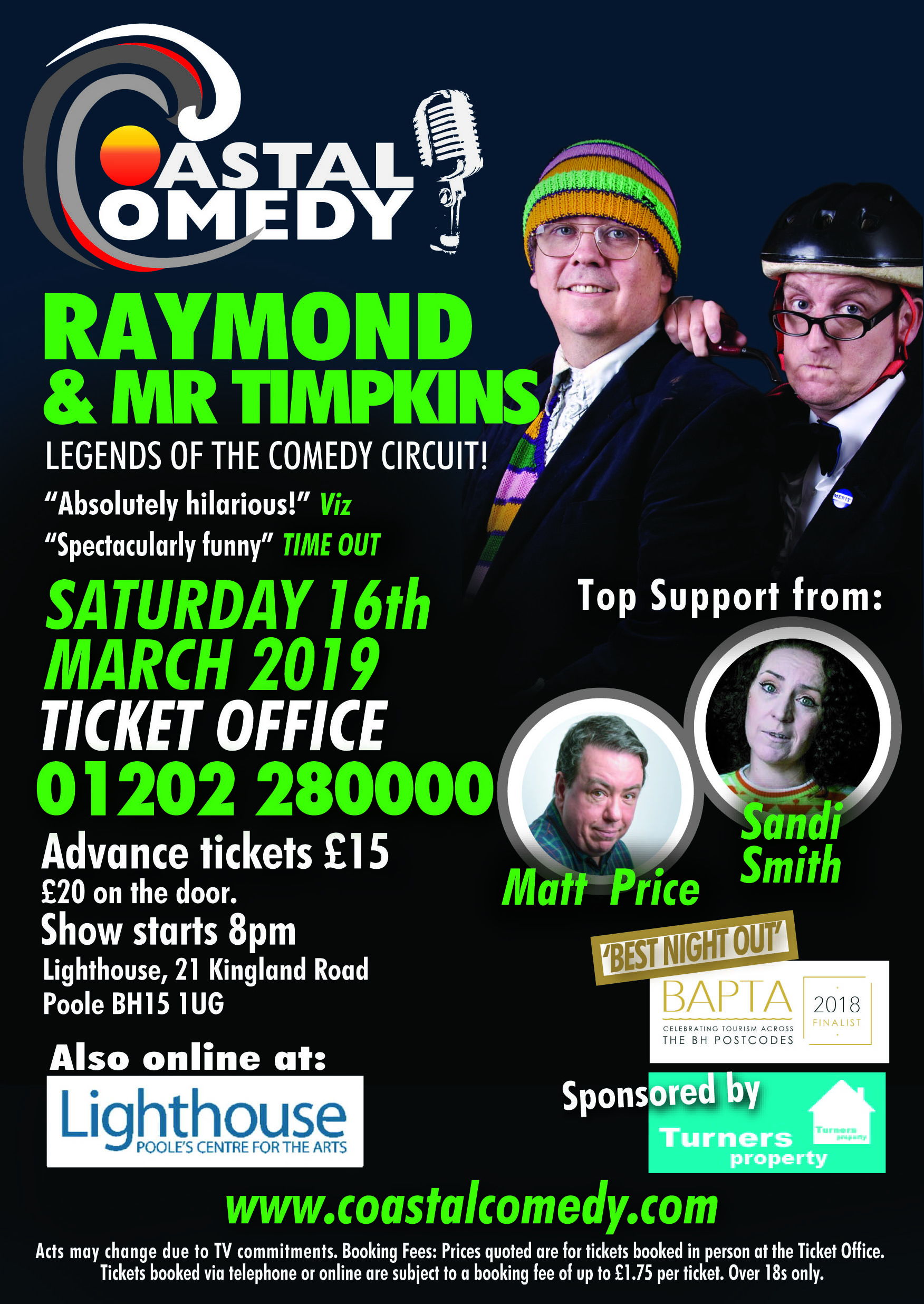 Lighthouse, poole, dorset, whatson, standup, comedy, lol, jokes, night life, entertainment, arts,