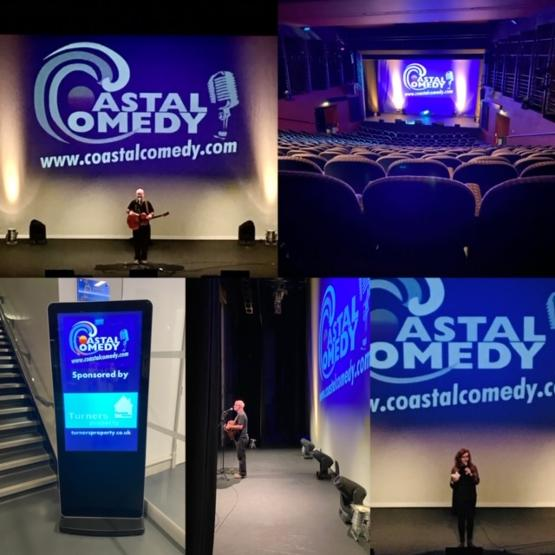coastal comedy, standup, gig, lighthouse, whatson, dorset, poole, event, show, funny, comedienne, comic,
